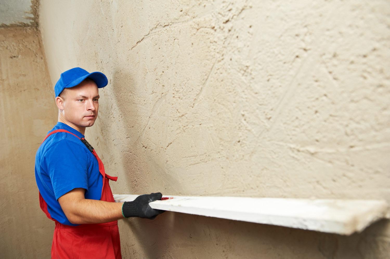 Штукатурка стен в подвале против грибка