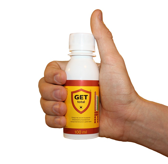 Get - достаточно эффективный препарат от клопов