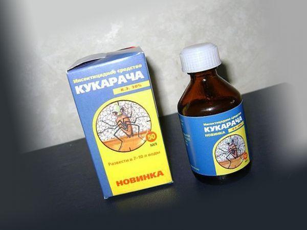 Кукарача - надежный препарат от личинок блох