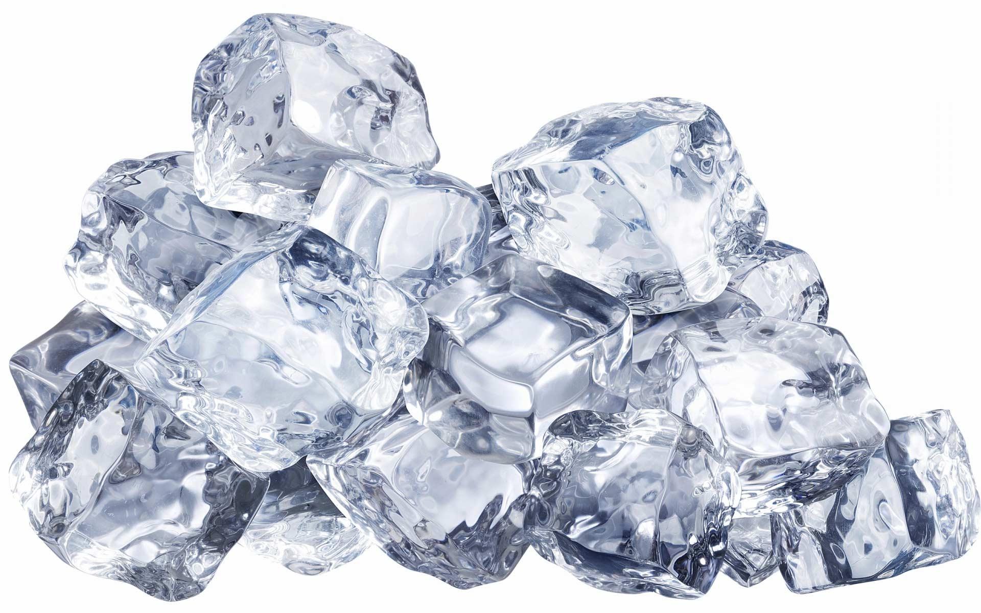 Лед, как средство от зуда