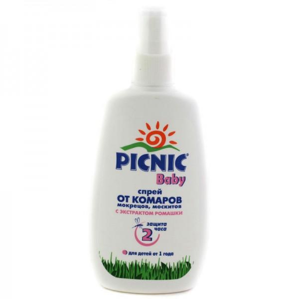 Спрей против укусов комаров Picnic