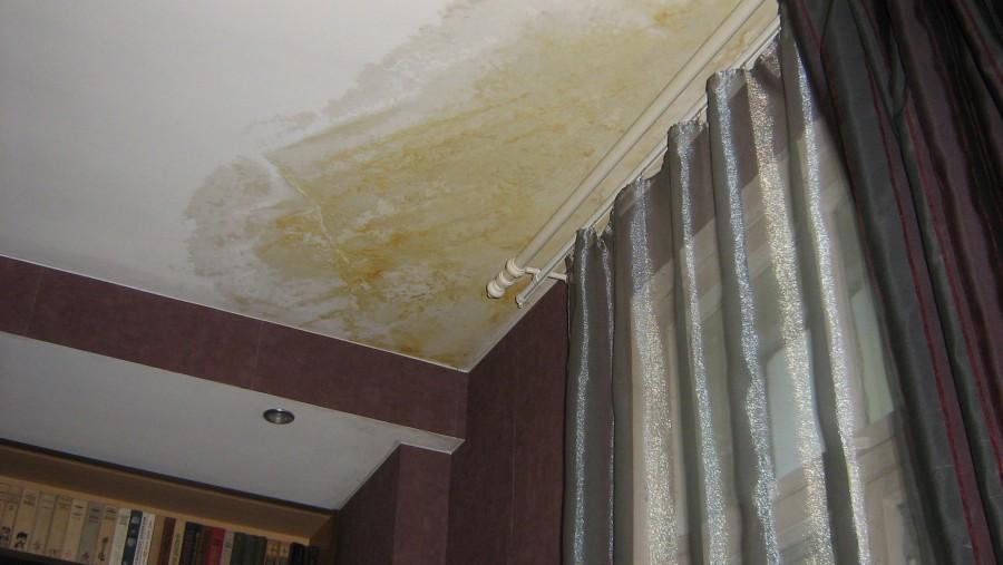 Затопили квартиру соседи