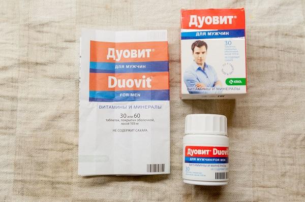 Витамины Дуовит для мужчин: инструкция по применению, состав, цена, отзывы, аналоги