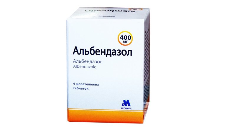 Препарат Альбендазол,