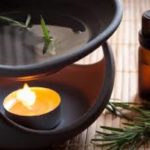 Аромалампа как средство против запаха гари