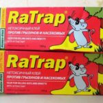 Нетоксичный клей RaTrap производства чешской фирмы Papirna Moudr