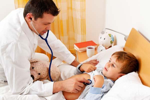 От чего может подняться температура у ребенка без симптомов простуды?