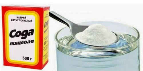 Сода при лечении молочницы