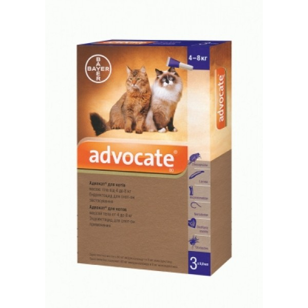 Advocatе шампунь для котов