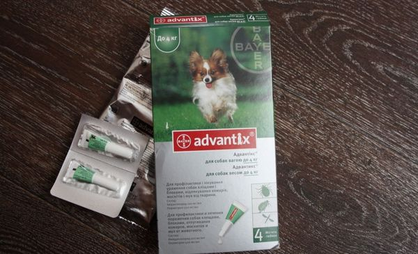 «Адвантикс»представляет собой средство инсектоакарицидного типа