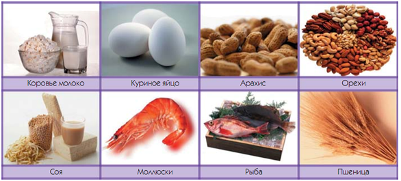 Аллергены вызывающие крапивницу