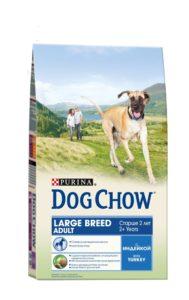 дог чау корм для собак описание