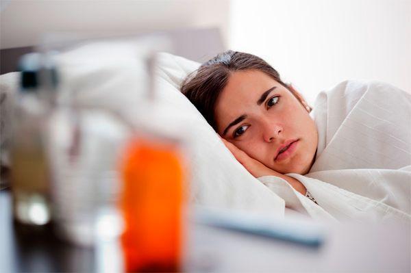 При слабом иммунитете могут быть осложнения