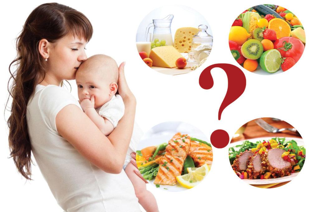 Каким должно быть питание мамы во время грудном вскармливания новорожденного?