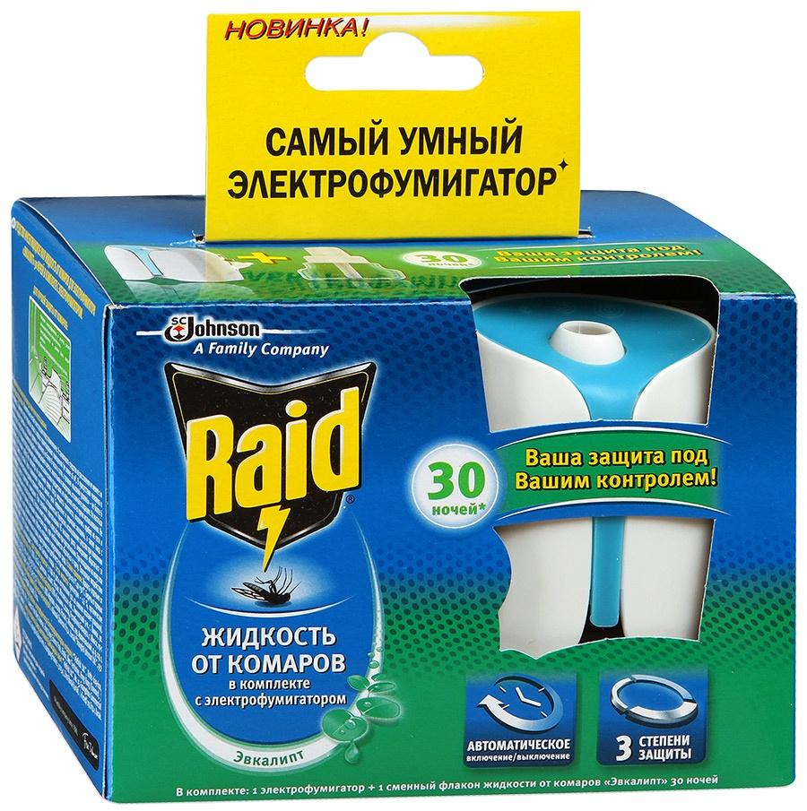 Упаковка с электрофумигатором Raid b66343