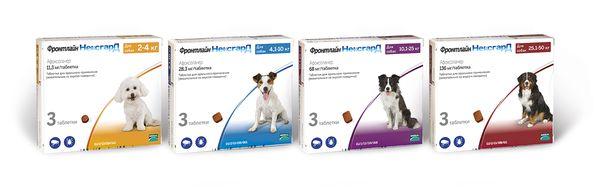 «Фронтлайн Нексгард» – системный инсектоакарицидный препарат