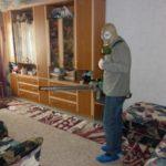 Дезинфекция комнаты от блох