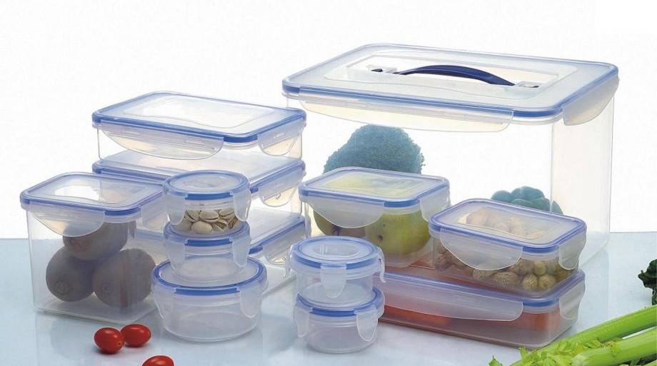 Хранение продуктов в лотках