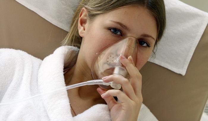 Кислородотерапия от дыхательной недостаточности