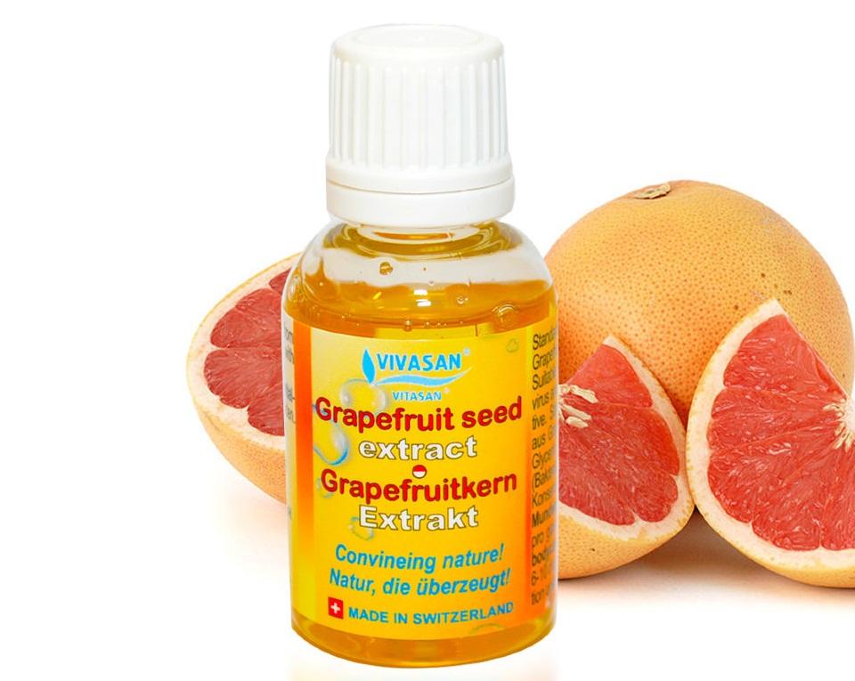 Экстракт косточек грейпфрута против плесени