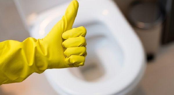 Следите за чистотой унитаза и не бросайте в него пищевые отходы
