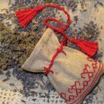 Мешочек с сушеными травами для борьбы с неприятным запахом