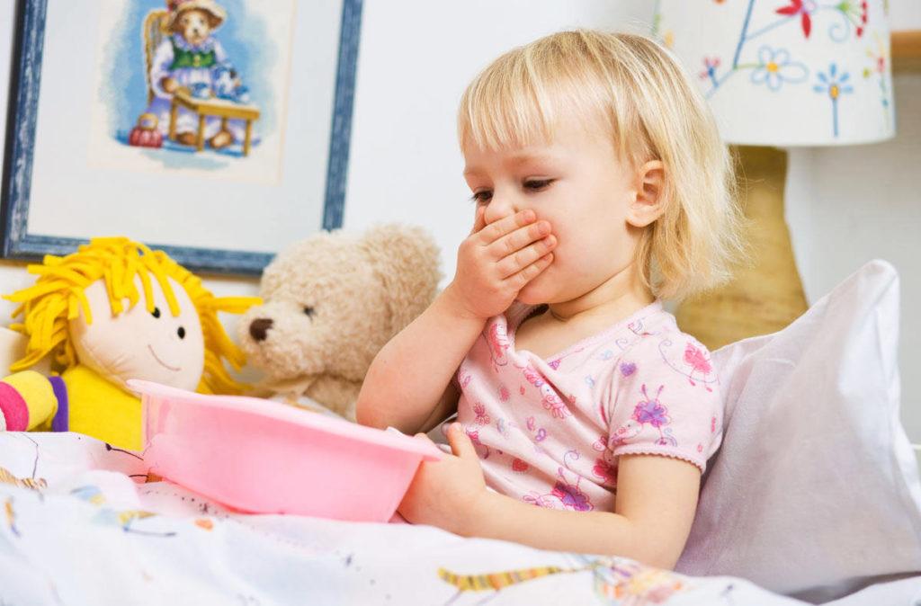 Причины рвоты у ребенка и чем ее остановить?