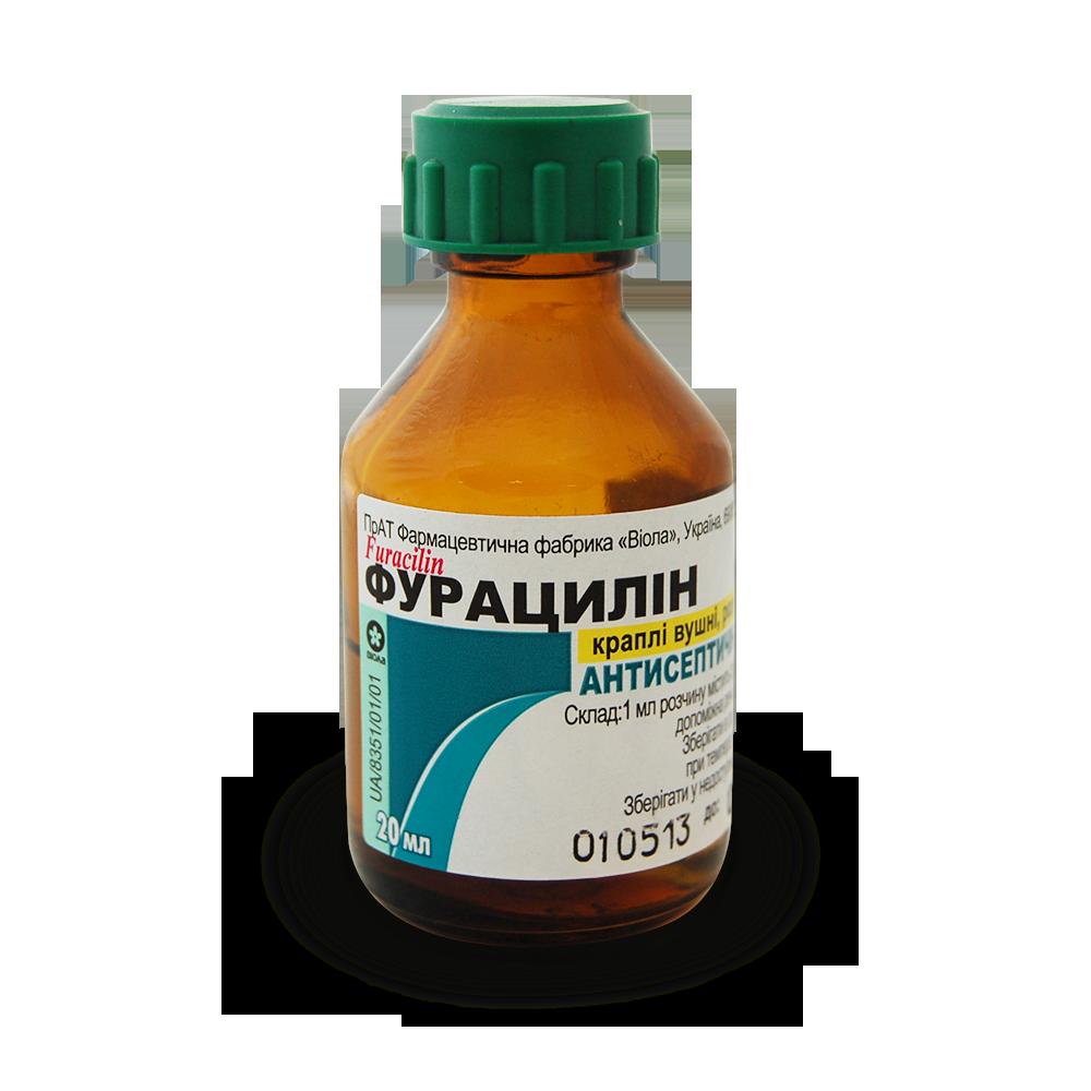 Спиртовой раствор Фурацилин