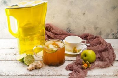 сок лайима и мед