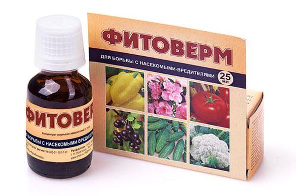 Фитоверм - препарат для борьбы с вредителями
