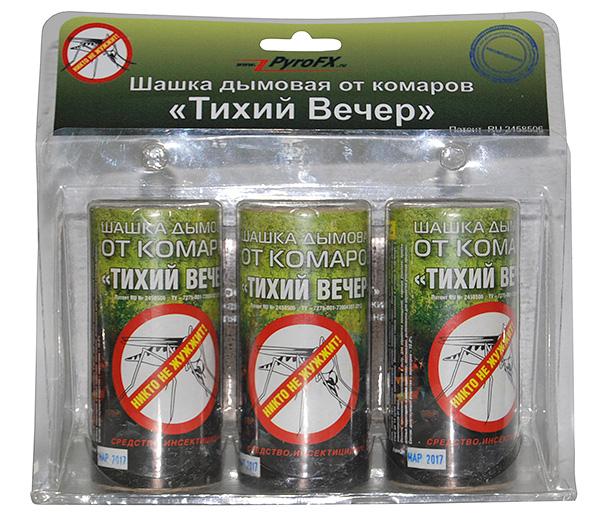 Дымовая шашка против насекомых на даче
