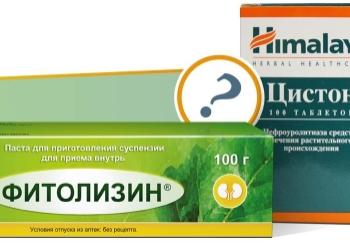 Что лучше: Цистон или Фитолизин?