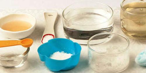Ингридиенты для лечения молочницы