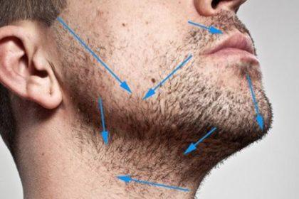 мужчина хочет бриться