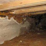Высокая влажность в подполье