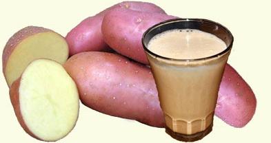 Картофельный сок против кислотности желудка