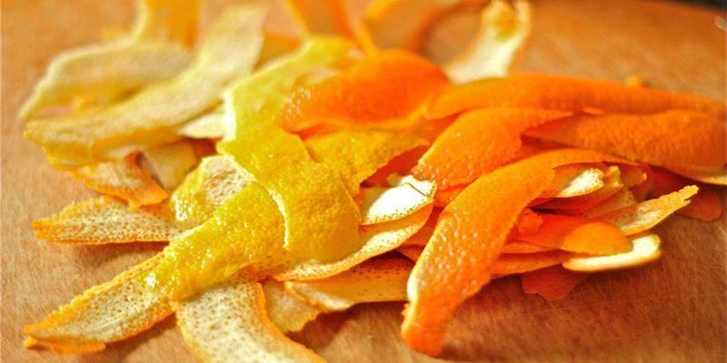Высушенные апельсиновые корки против паразитов