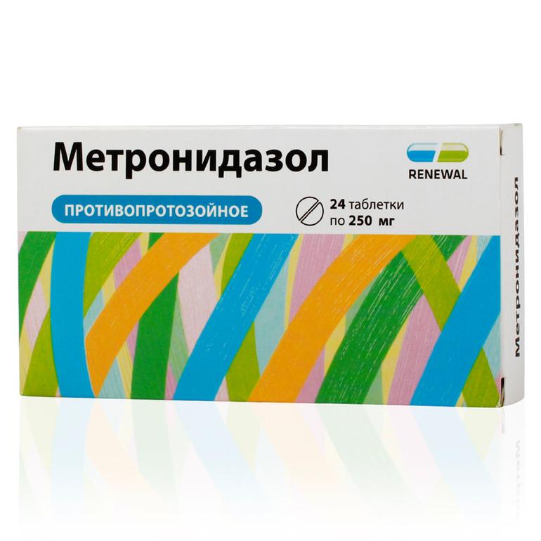 Метронидазол от лямблий