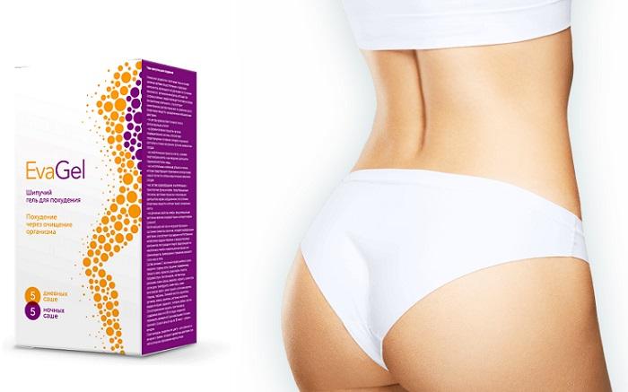 EvaGel для похудения: после завершения курса потерянный вес не возвращается!
