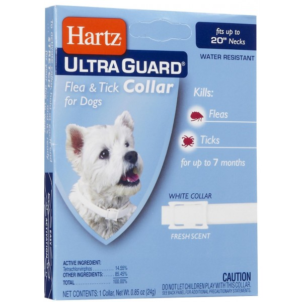 Противоблошиные ошейники для собак «Hartz»