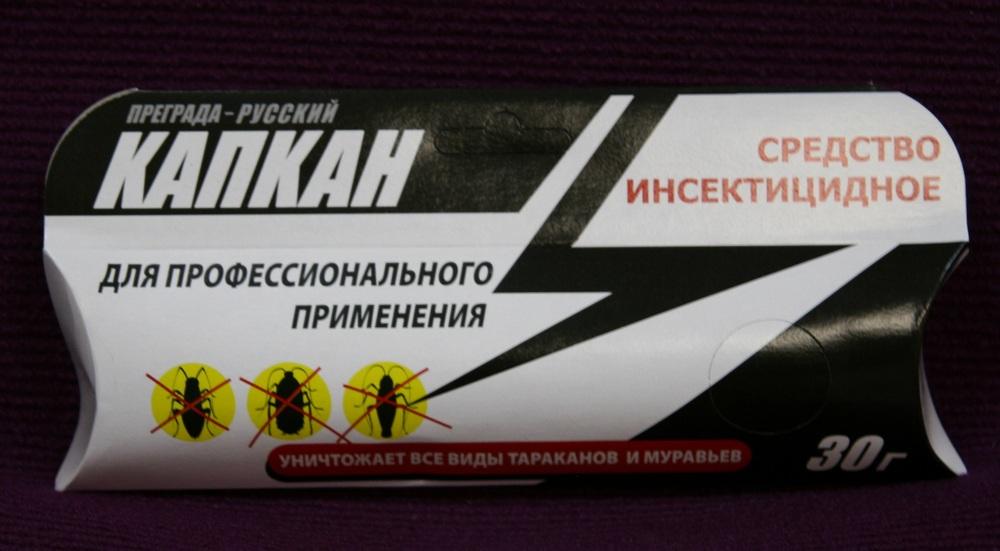 КАПКАН шприц (30 г) гель от паразитов