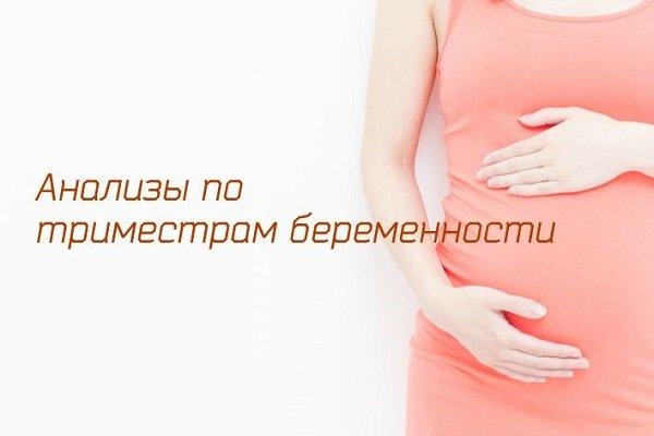 необходимые анализы при беременности