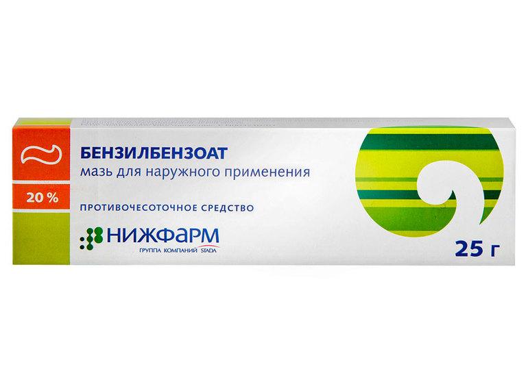 Препарат Бензилбензоат