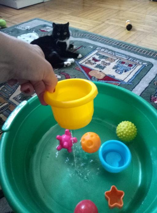 Игры с водой для детей: обучение, развитие и новая жизнь для старых игрушек