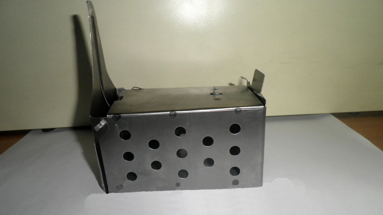 Фото металлической ловушки-живоловки