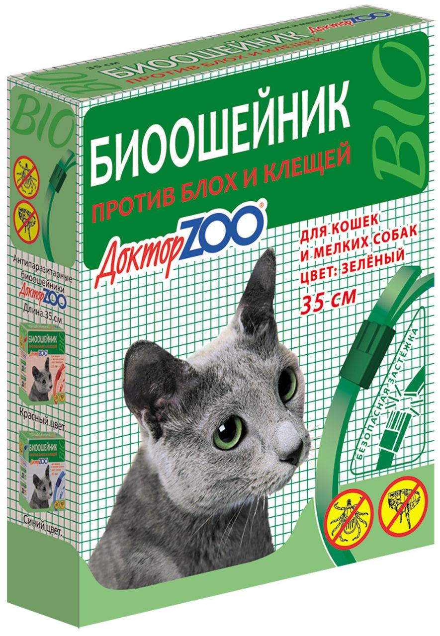 Ошейник для котов &quot,Доктор Зоо&quot, против блох
