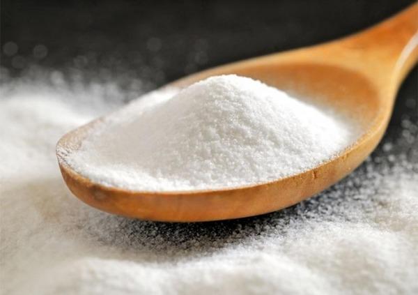 Сода как средство против устранения гари