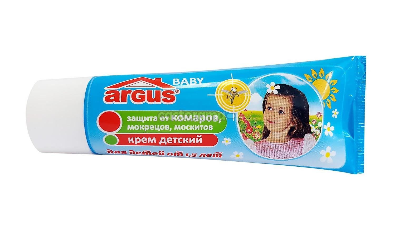 Детский крем Аргус против комариных укусов
