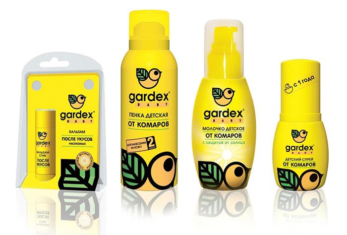 Лосьоны, крема и мази для детей Гардекс