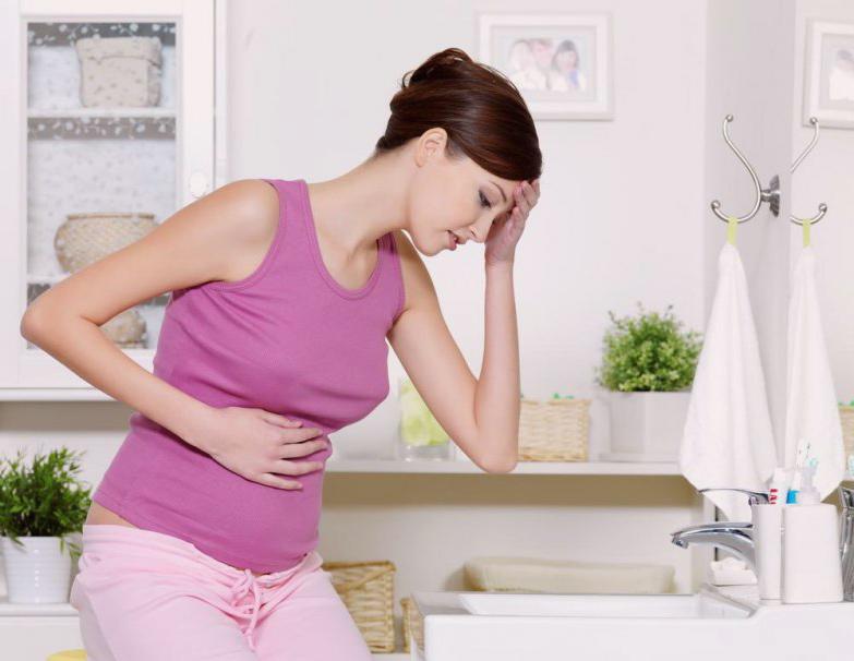 Причины менструальных кровотечений во время беременности